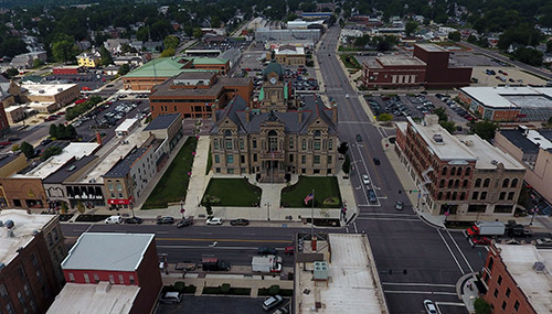Findlay Aerial View 2