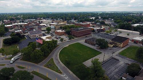 Fostoria Aerial View 1