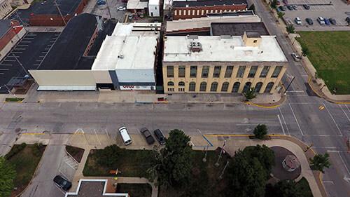 Fostoria Aerial View 3