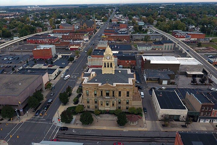 Marion Aerial View 1