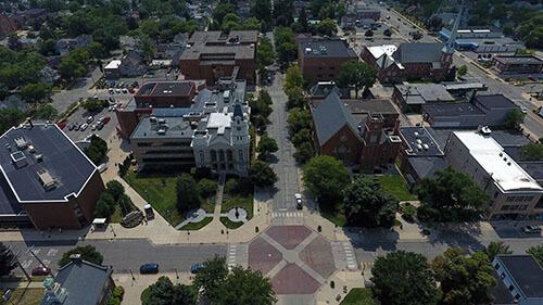 Monroe Aerial View 1