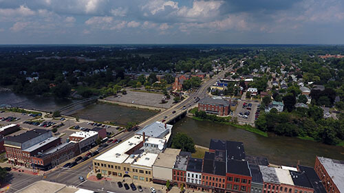 Monroe Aerial View 3