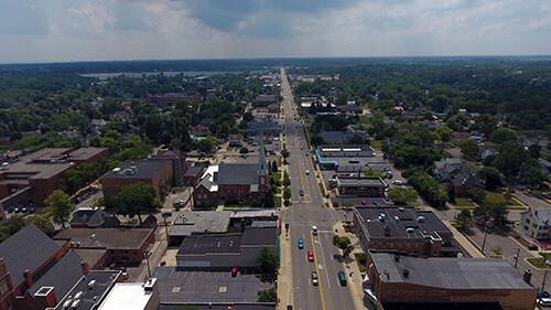 Monroe Aerial View 2
