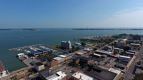 Sandusky Aerial View 2