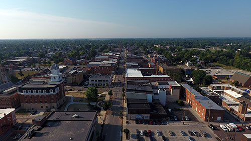 Tiffin Aerial View